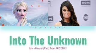 Gambar cover Idina Menzel & AURORA - Into The Unknown Color Coded Lyrics Video 가사 |ENG|
