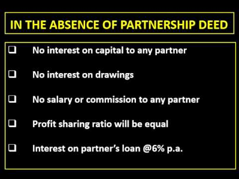 In the absence of partnership deed youtube altavistaventures Image collections