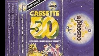 Cascade Cassette 50 1. Maze Eater Review for the Amstrad CPC by John Gage