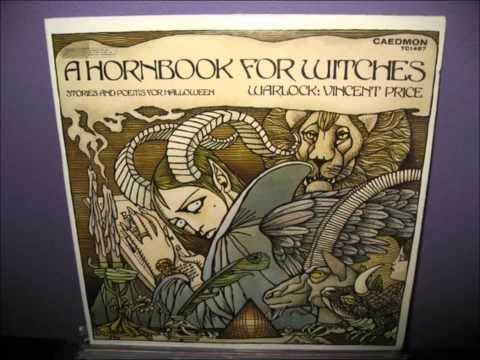 Vincent Price - A Hornbook For Witches, Stories And Poems For Halloween (1976, Vinyl Rip)