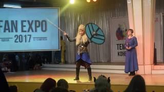 Выступление на Fan Expo Odessa 2017. Вступайте в группы вк и подпис...