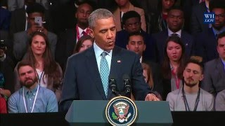 President Obama's shout-out to Michael Sani, Bite The Ballot [2016]