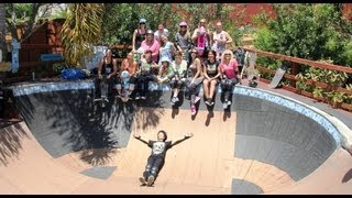Mighty Mama Skate-O-Rama sesh Iguana Bowl 2013