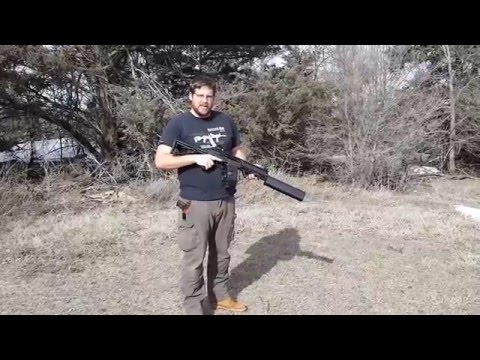Hatcher Gun Company Short Barreled Saiga Silenced