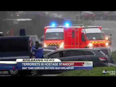 BREAKING NEWS! France Paris Terrorist attack Standoff!!