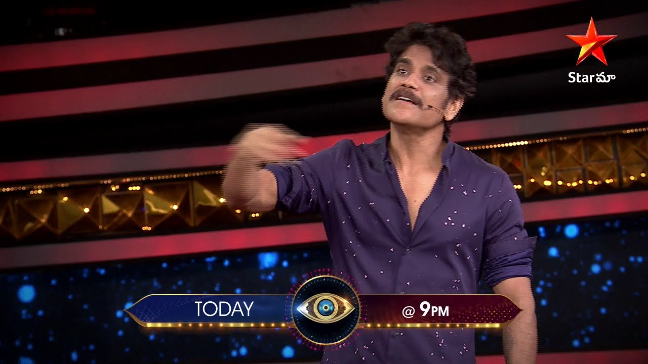 Download Game ni serious ga teskomani housemates mida #Nagarjuna fire 🔥 🔥 #BiggBossTelugu4 Today at 9 PM