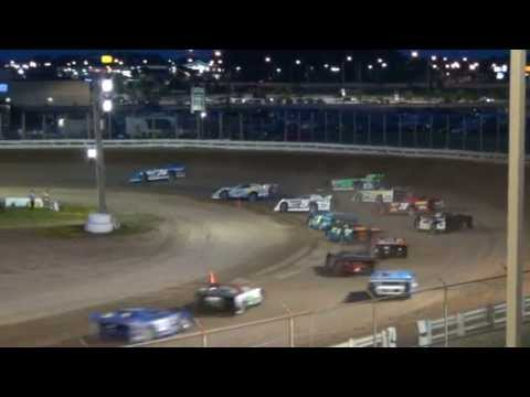 Late Models Main event @ Manitowoc County Expo Speedway 7-22-2011 Dirt Track Racing Wisconsin