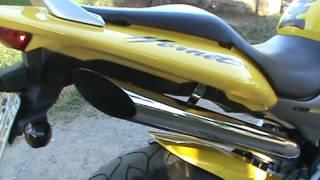 HORNET 600 CARBURADA - RONCO DO ESCAPE 4X1 DIRETO