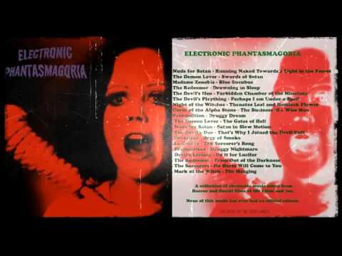 Electronic Phantasmagoria // A collection of electronic soundtracks from 60s and 70s sleazy horror