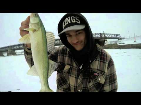 Fishing At Lockport with Backwoods204