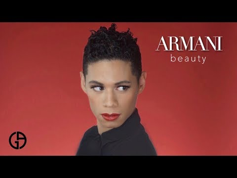 Armani Beauty Review & Red Carpet Glam ft. Power Fabric & 400 Rouge D'Armani Lipstick