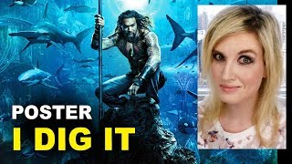 Aquaman Movie Poster REACTION