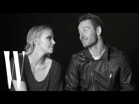 Charlize Theron and Michael Fassbender Talk Prometheus and Greg Louganis | Screen Tests | W Magazine