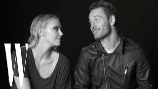 Lynn Hirschberg's Screen Tests: Charlize Theron and Michael Fassbender