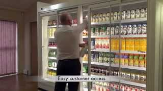 The Universal Door - Display Solution For Retail Refrigeration Cabinets