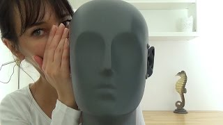 Binaural ASMR Very Slow Polish Word Repetition + Unintentional Mouth Sounds