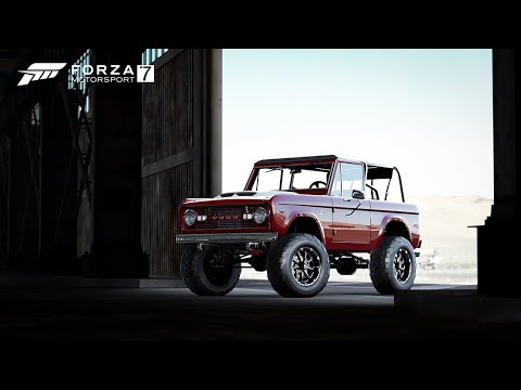 Forza  Ford Bronco Barrett jackson