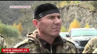 Рамзан Кадыров посетил погранзаставу на границе Чечни и Грузии
