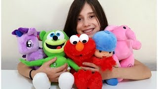 5 Little Monkeys jumping on the Bed - LEARN COLORS with Nursery Rhymes for Kids