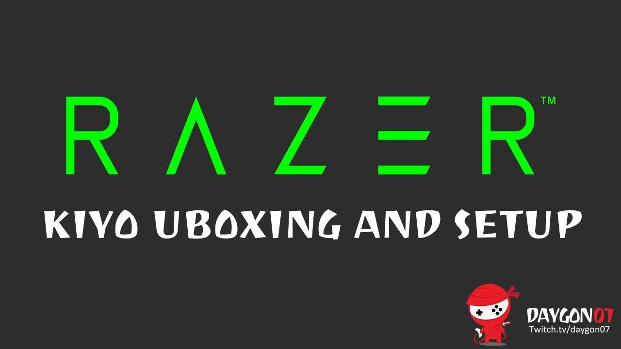 Razer Kiyo Webcam Unboxing and Setup