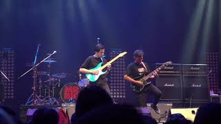 Bom Nuttee with band opening Mr.big live in bangkok 2018 (Part1)