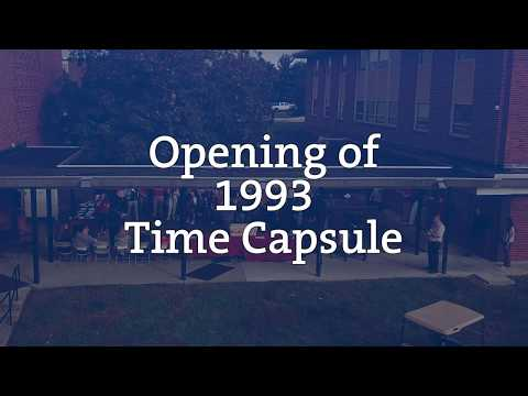 Opening of the 1993 Time Capsule