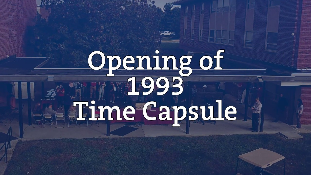 Students Opened a Time Capsule From 1993 And It Reveals How