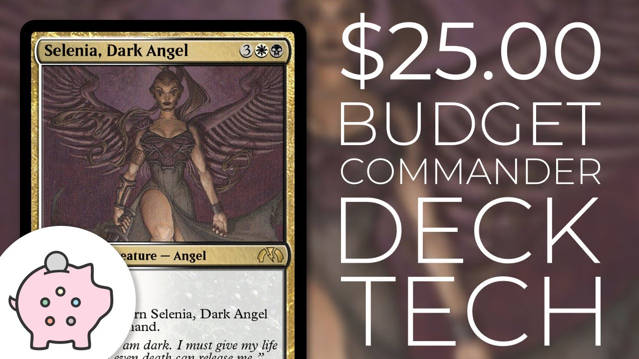 Selenia, Dark Angel | EDH Budget Deck Tech $25 | Control | Combo | Magic  the Gathering | Commander