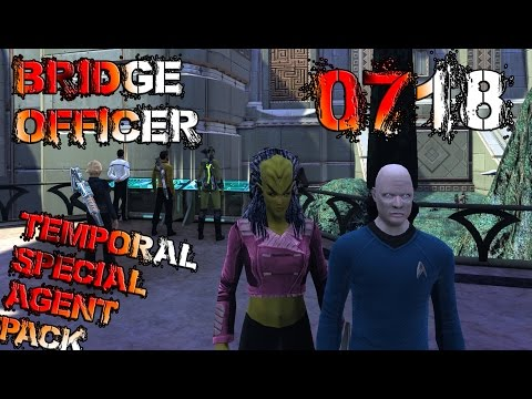 Temporal Special Agent Pack, 0718 Bridge Officer - Star Trek Online