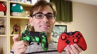 NOVOS CONTROLES DA SCUF - DE PS4 E XBOX ONE!!! (Scuf Infinity 4PS Xbox One Unboxing)
