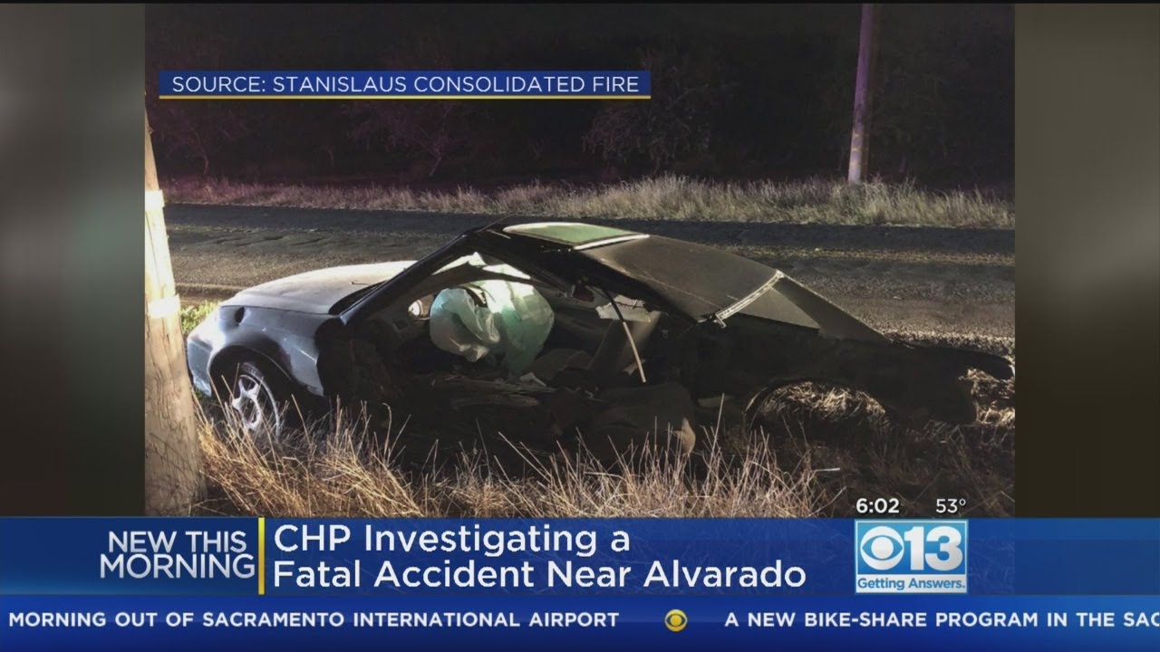 1 Dead After Crash Between Oakdale And Waterford