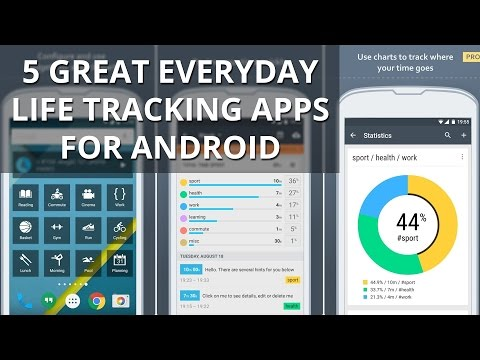 5 Great Everyday Life Tracking Apps For Android
