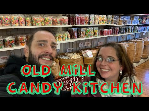 Old Mill Candy Kitchen Pigeon Forge Tn Youtube