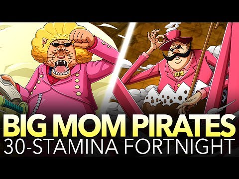 BIG MOM PIRATES 30-STAMINA PLAYTHROUGH! (One Piece Treasure Cruise - Global)