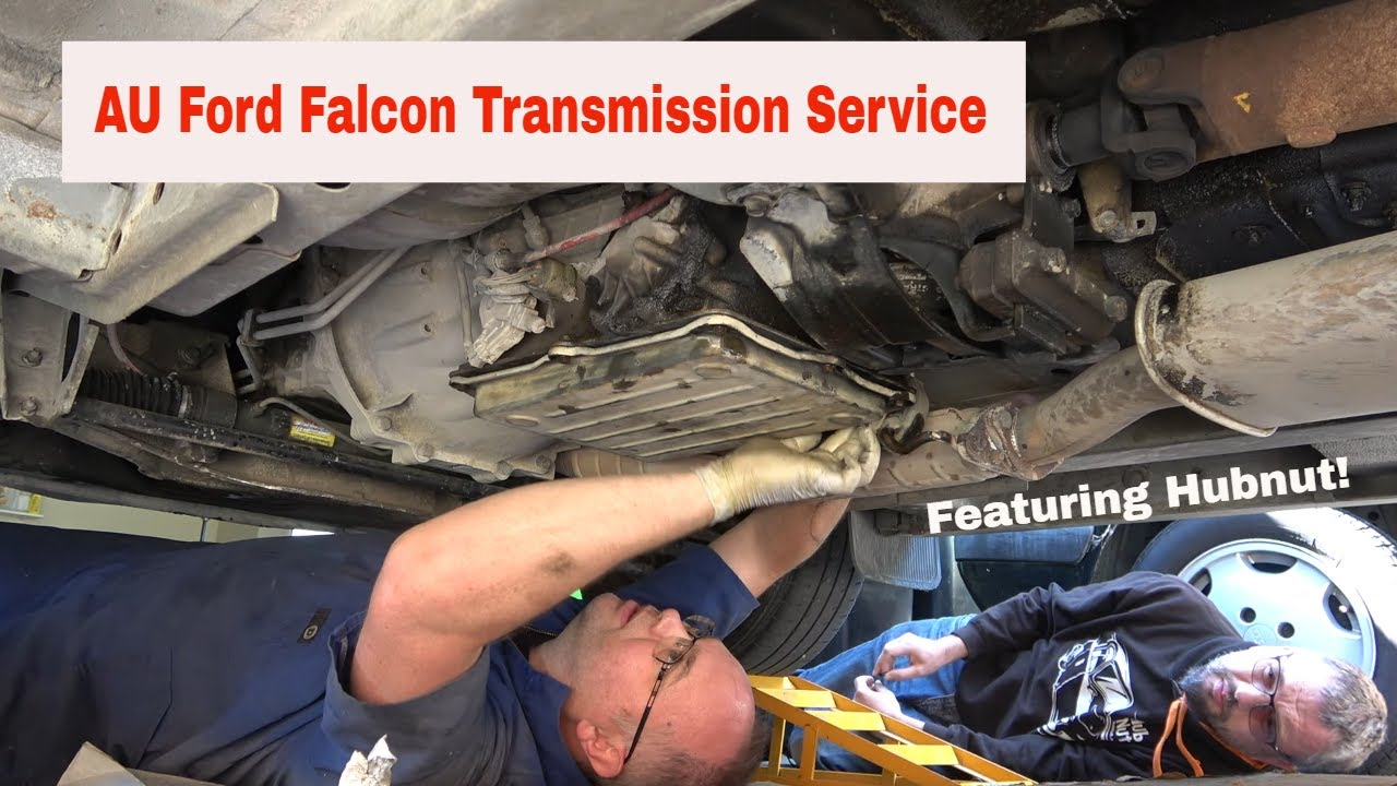 Au Ford Falcon Fairmont Transmission Service Featuring Hubnut And