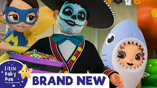 Scary Halloween Song - Candy & Fun for Everyone!   Nursery Rhymes & Kids Songs   Little Baby Bum