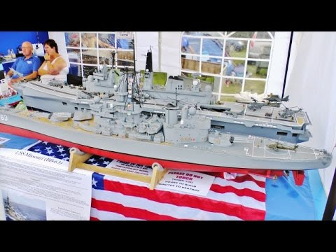 WARSHIPS, FRIGATES, BATTLESHIPS, AIRCRAFT CARRIER AT RC SOUTHERN MODEL SHOW - 2016