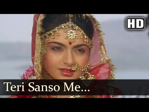 Teri Sanson Mein (HD) - Paayal Songs -...