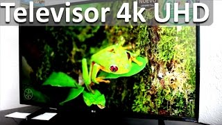LG Smart Tv 4k Ultra HD - Televisor 4k UHD TV LG 43UH610T Review