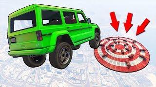 Что будет, если прыгнуть на 20 взрывных бочек? Гонки в GTA 5 Online | MYE