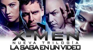X-men Trilogía Precuelas: La saga en un video