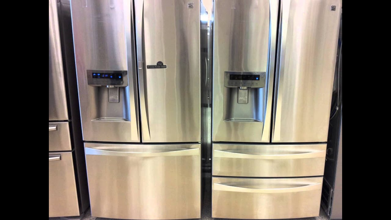 by front depth silver f refrigerators counter countertop countertops side
