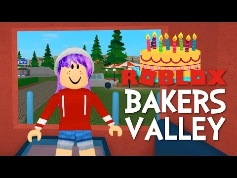 ROBLOX BAKERS VALLEY   MY NEW HOUSE!   RADIOJH GAMES