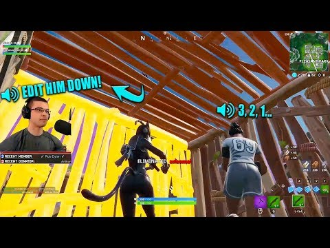The best teamwork youll ever see in RANDOM DUOS...