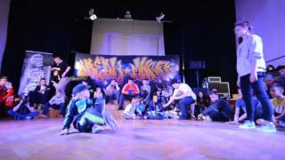Top 16 Bgirl Battle 1vs1 do 15 lat / Uzi vs Aneta