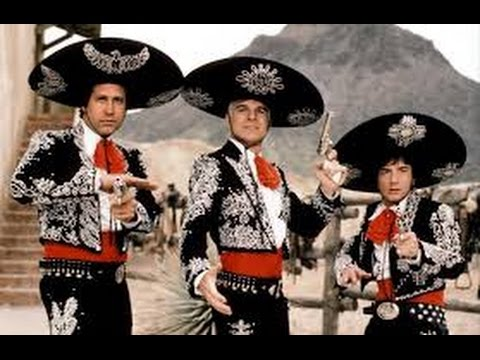 Three Amigos (1986) with Chevy Chase, Martin Short, Steve Martin movie