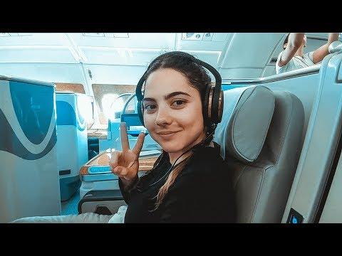 Dubai - NYC : Flight, What I Ate, Upgraded on Emirates, Gold Lounge Luxury