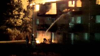 hickory ridge apartment fire 9 7 11 part 2