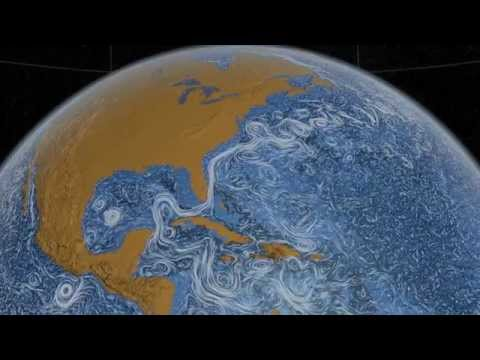 Perpetual Ocean - NASA visualization of ocean surface currents (20 minute version)