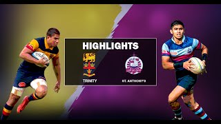 Match Highlights - Trinity College v St. Anthony's College 2019